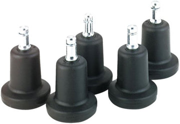 OfficeLogixShop - High Profile Bell Glides (Set of 5)