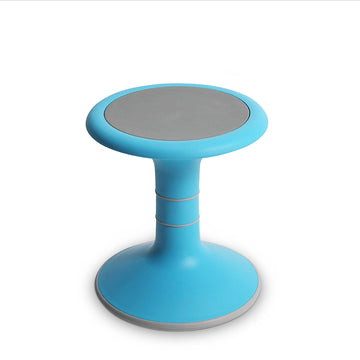 LorryLogix Wobble Chair For Kids - Ergonomic Wobble Stool To Encourage Right Posture, Balance & Strengthen Core - Sensory School Classroom & Home Chairs