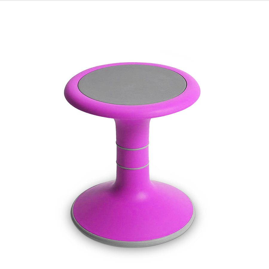 Pink Balance /& Strengthen Core Active Kid ADHD Fidget Wobbly Seat Wobble Chair For Kids Ergonomic Wobble Stool To Encourage Right Posture Sensory School Classroom /& Home Chairs