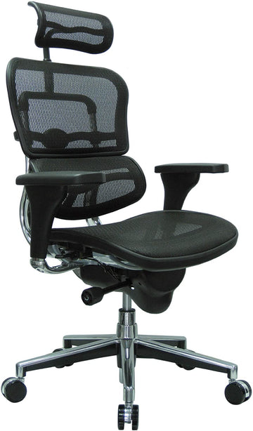 OfficeLogix Lotus Ergonomic Chair with Adjsutable Headrest