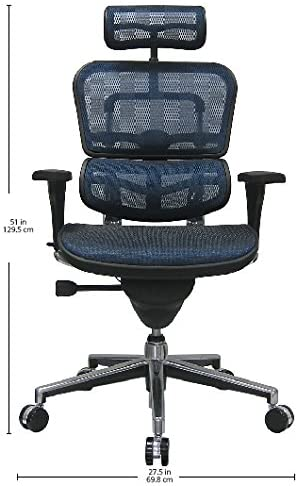 Lotus Ergonomic Chair with Adjustable Headrest