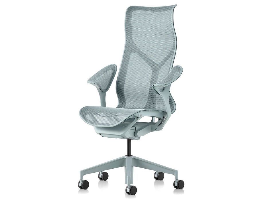 Herman Miller Cosm high back task chair dipped in color- Open Box