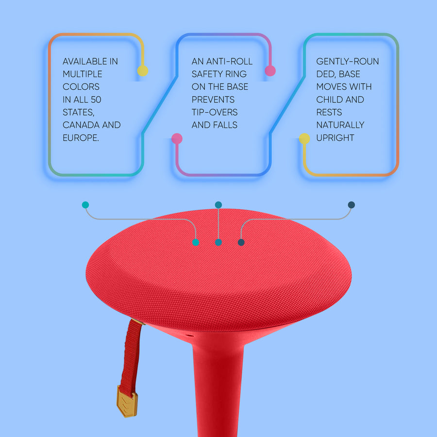 Adjustable Wobble Chair For Kids