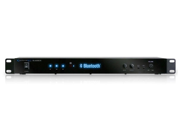 Technical Pro BLUEDECK2 RACK MOUNTABLE BLUETOOTH® AUDIO RECEIVER
