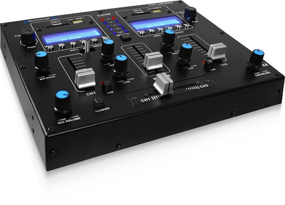 Technical Pro DJ2USB TABLE TOP USB MIXER