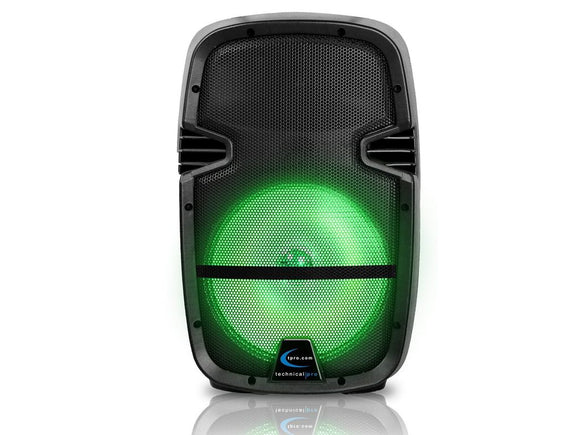 Technical Pro PB850LED RECHARGEABLE BLUETOOTH® LED ACTIVE LOUDSPEAKER