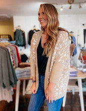 Load image into Gallery viewer, Mohair Leopard Cardi