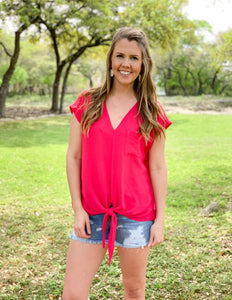 Simply Fuchsia Top