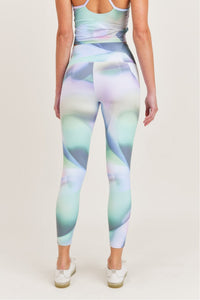 Ombre Kaleidoscope High Waist Leggings