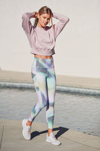 Load image into Gallery viewer, Ombre Kaleidoscope High Waist Leggings