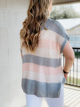Load image into Gallery viewer, Color Block Knit Top