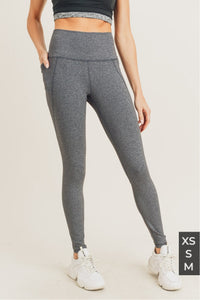 Tapered Band Essential High waist leggings