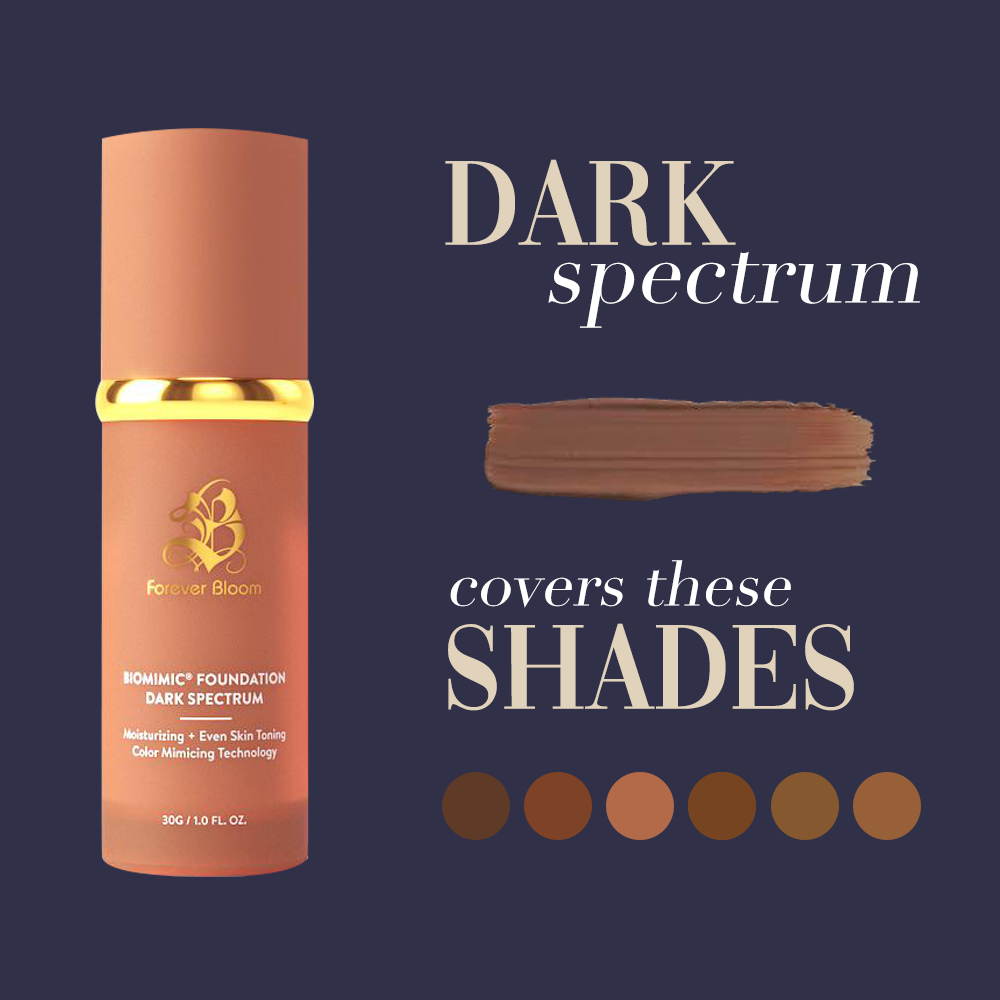 Biomimic Foundation 4 in 1 - Dark Spectrum