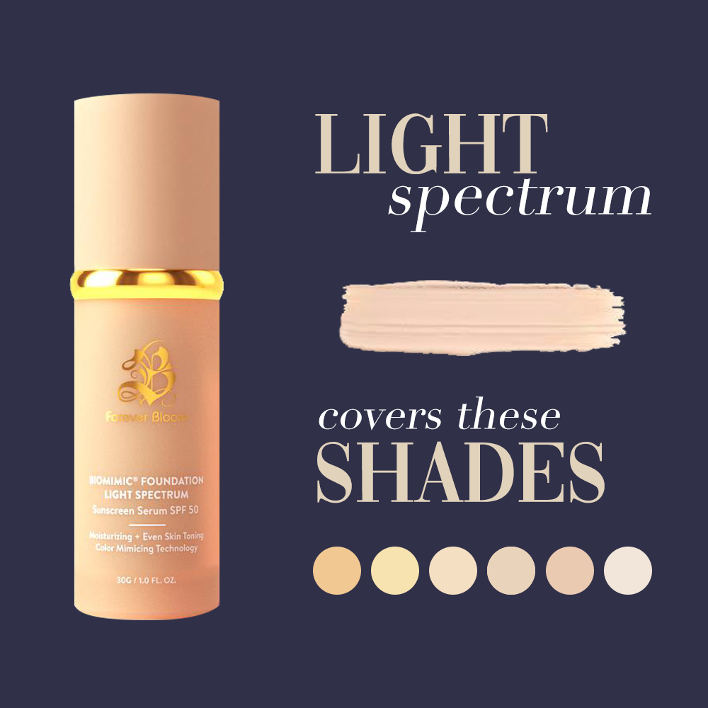 Biomimic Foundation 4 in 1 - Light Spectrum