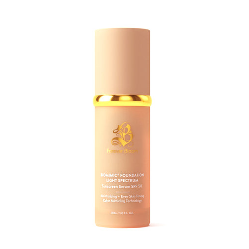 Forever Bloom Bio Mimic Sunscreen Light Spectrum