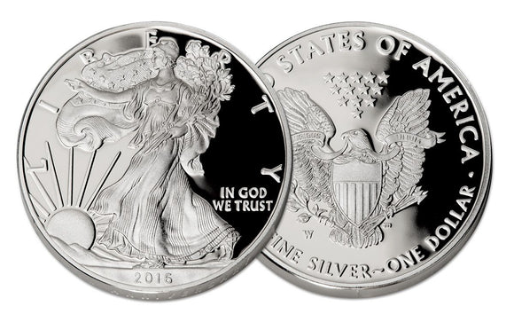 The 30th Anniversary Silver Eagle