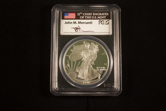 The American Silver Eagle & John M. Mercanti