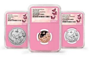 NGC Breast Cancer Awareness Early Releases Label