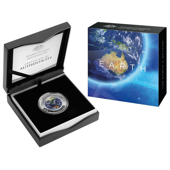Domed Earth Coin & OGP from the Australian Mint