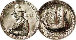 2020 MARKS THE 100TH ANNIVERSARY OF THE PILGRIM TERCENTENARY HALF DOLLAR COIN