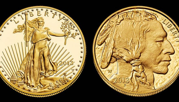 American Gold Eagles & American Gold Buffalos