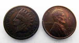 Lincoln Pennies & Indian Head Pennies