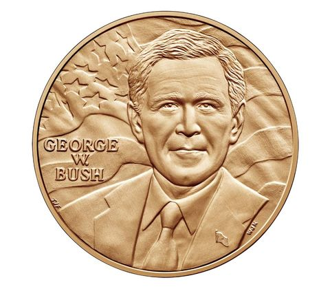George W. Bush Presidential Bronze Medal