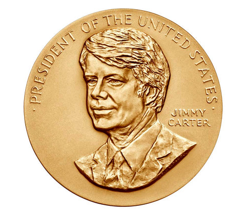 Jimmy Carter Presidential Bronze Medal
