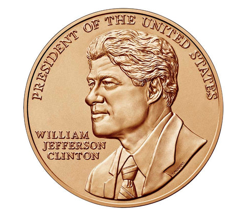 Bill Clinton Presidential Bronze Medal