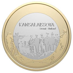 Finland Commemorative Civil War Recalled Coin