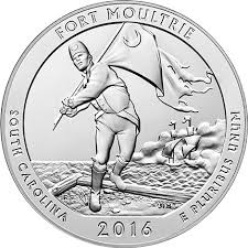 Fort Moultrie American The Beautiful Quarter