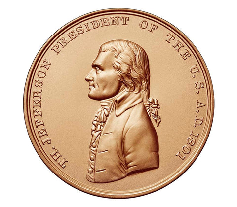Thomas Jefferson Presidential Bronze Medal