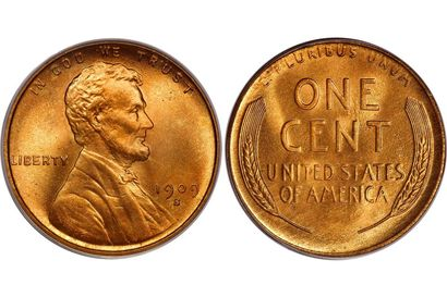 1909 S Lincoln Wheat Penny Obverse & Reverse