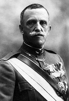 King Victor Emmanuel III of Italy in military uniform