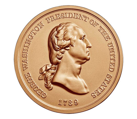 George Washington Presidential Bronze Medal