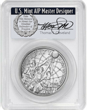 2020-P $1 Silver Basketball Hall Of Fame PCGS MS70 FDOI Cleveland Pop 15 (PRESALE)