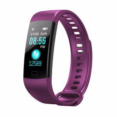 Smart Bracelet Equipped with Heart Rate Monitor, Blood and Oxygen Monitor smart watches - Plus Shop Now