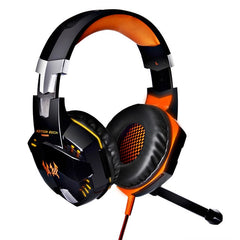 Over-Ear 7.1 Surround Sound Gaming Headphone with 2.4GH 6D Optical 2400DPI Wireless mouse  - Plus Shop Now