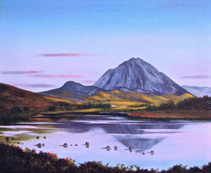Irish art for sale, Errigal Reflections