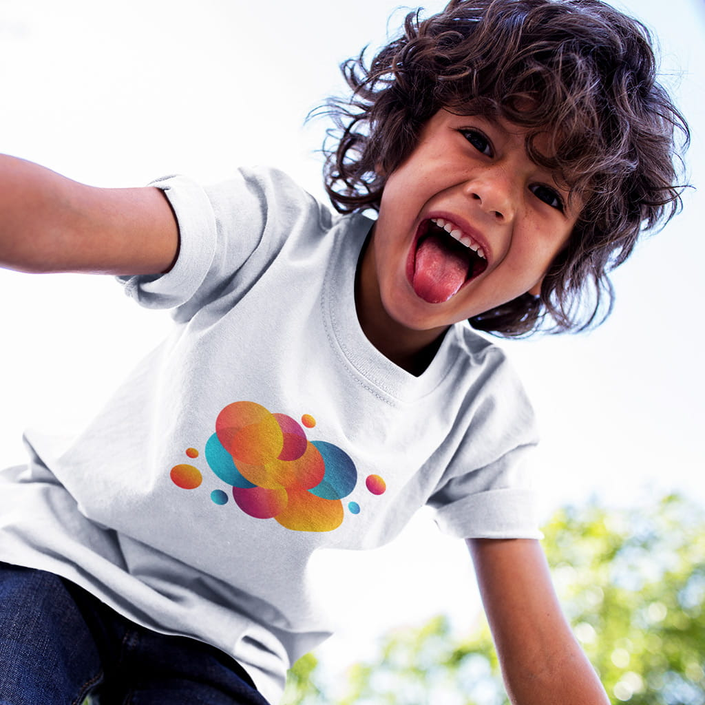 Short sleeve kids t-shirt