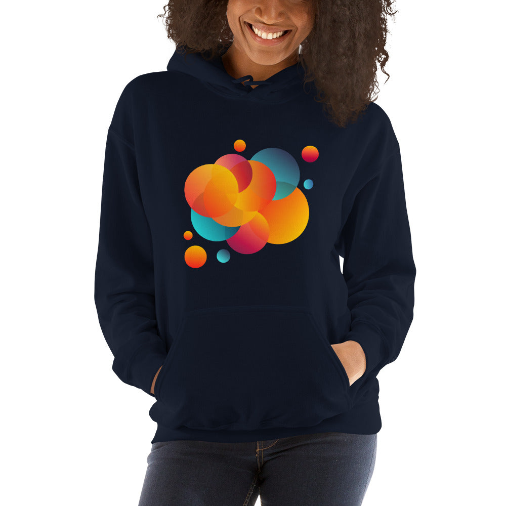 Hooded Sweatshirt - Navy / S - VITALS demo store