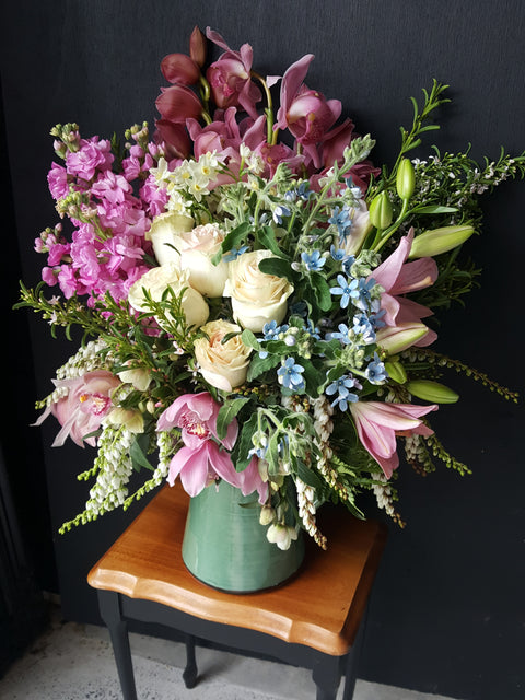 Fresh flowers delivered by local florist Mini Petals in Katikati and Waihi Beach