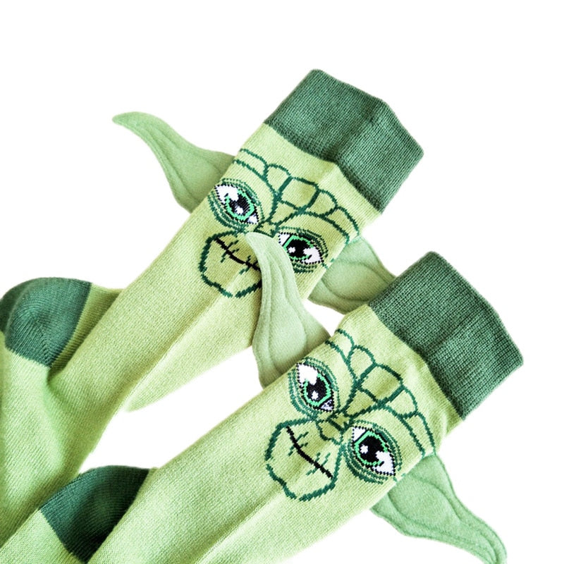 3D Ears Cartoon Socks