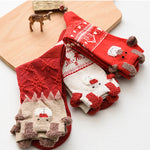 3D Christmas Pattern Socks (3 Pairs)