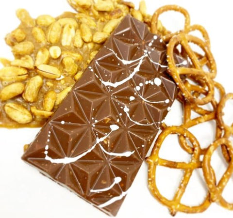 Peanut Pretzel Chocolate Bar