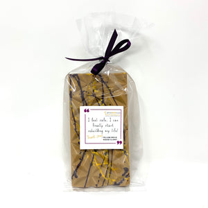 32% Butterscotch Bar - #Chocolate4Change - Yellow Brick House - Cocoa40 Inc.