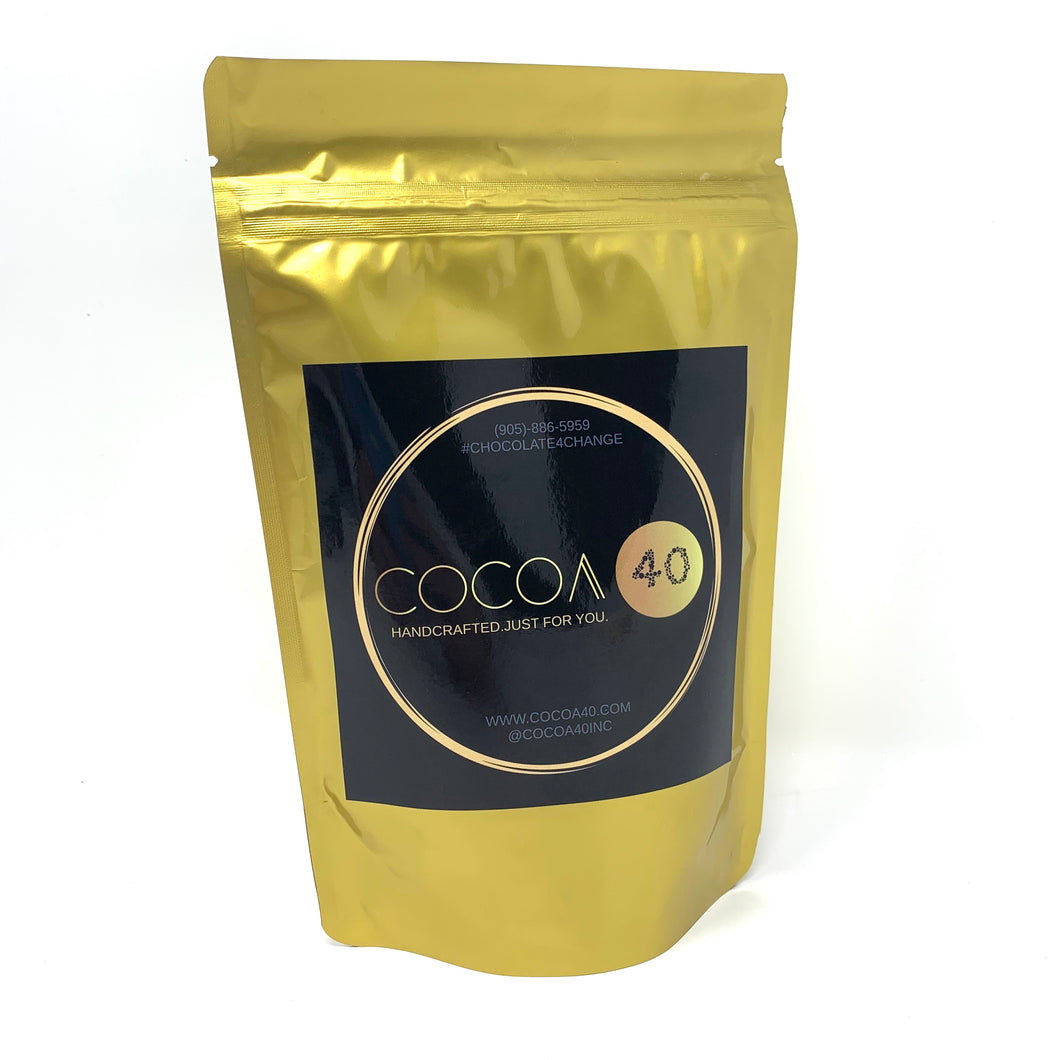 Gourmet Hot Chocolate Mix (Dairy-Free/Vegan) - Cocoa40 Inc. - Gourmet Chocolate Made in Canada