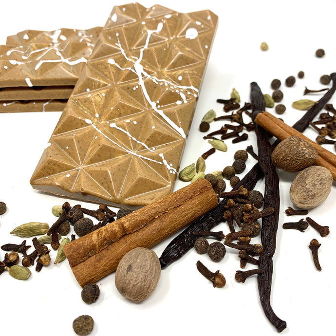 32% Chai Spice Bar - Cocoa40 Inc. - Gourmet Chocolate Made in Canada