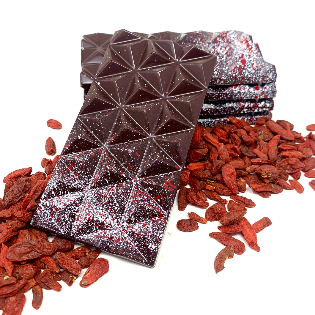 Flavour of The Month - 70% Guanaja Goji Berry - Cocoa40 Inc. - Gourmet Chocolate Made in Canada