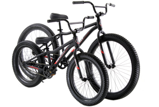 "Monster 24"" CB boys blk Gravity"
